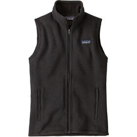Patagonia Better Sweater Vest Dame Black